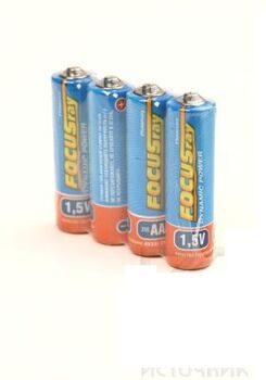 Батарейка FOCUSray DYNAMIC POWER R6/S4 Типоразмер: AA/пальчиковая, 4 штуки в упакавке