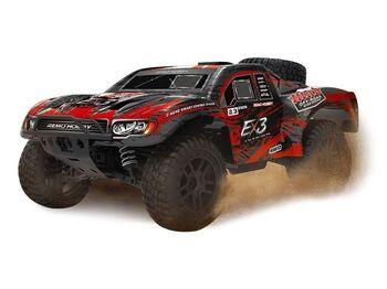 Радиоуправляемый шорт-корс Remo Hobby EX3 (красный) 4WD 2.4G 1/10 RTR