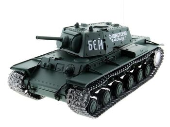 Радиоуправляемый танк Heng Long KV-1 Professional Version V6.0 2.4G 1/16 RTR