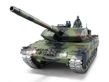 Радиоуправляемый танк Heng Long Leopard 2 A6 UpgradeA Version V6.0  2.4G 1/16 RTR