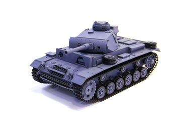 Радиоуправляемый танк Heng Long Panzer III type L Original V6.0  2.4G 1/16 RTR
