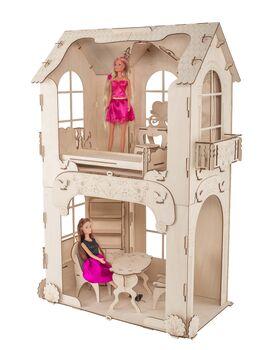 """Кукольный домик ХэппиДом """"Дом для кукол до 30 см"""" с мебелью"""