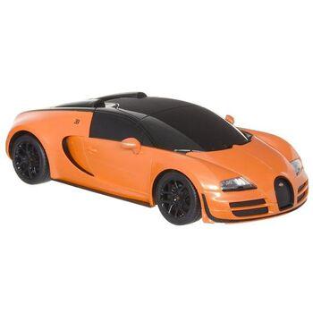 Машинка на радиоуправлении RASTAR Bugatti Veyron Grand Sport Vitesse 1:18  цвет оранжевый