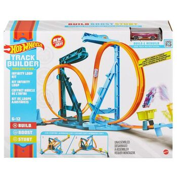 Игровой набор Mattel Hot Wheels Автотрек Бесконечная петля