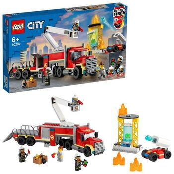 Конструктор LEGO CITY Fire Команда пожарных