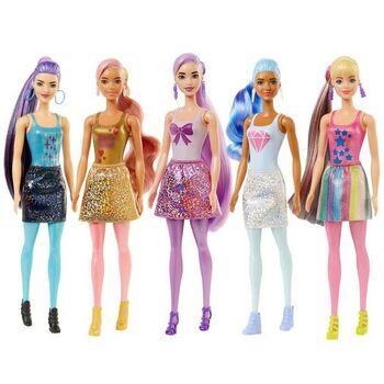 Кукла Mattel Barbie-сюрприз Волна 1 с розовой куклой и сюрпризами