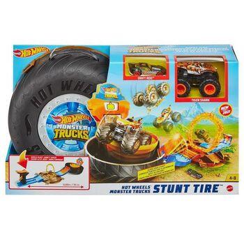 Игровой набор Mattel Hot Wheels Монстр трак Автотрек Трюковая арена
