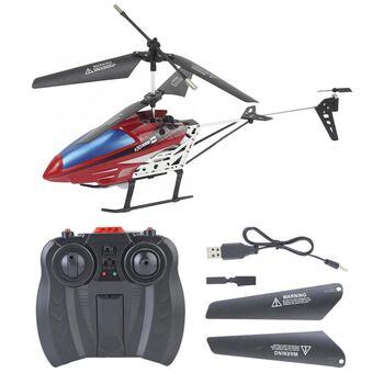 Вертолет на радиоуправлении E3308 27см с светодиодной подсветкой