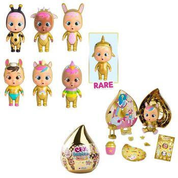 Кукла IMC Toys Cry Babies Magic Tears GOLDEN EDITION Плачущий младенец с домиком и аксессуарами 7 видов в ассортименте