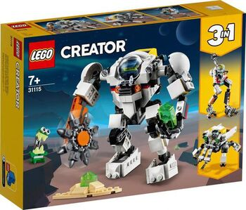 Конструктор LEGO CREATOR Космический робот для горных работ