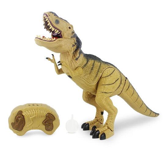 Радиоуправляемый динозавр Тираннозавр REX (свет, звук, пар) - RS61-100A
