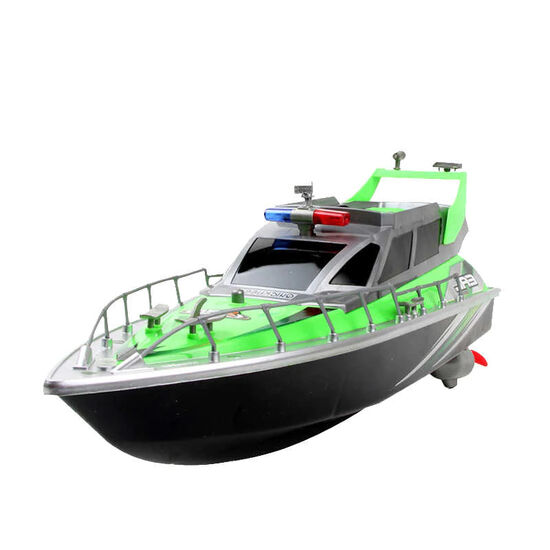 Радиоуправляемый полицейский катер HT Green 1:20 2.4G - HT-2875B-GREEN