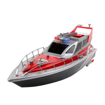 Радиоуправляемый полицейский катер HT Red 1:20 2.4G - HT-2875B-RED