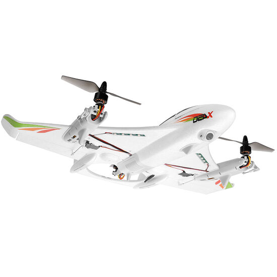 Радиоуправляемый самолет X450 VTOL 3D6G (вертикальный взлёт) 6CH EPO RTF 2.4G - XK-X450