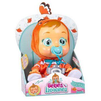 Кукла IMC Toys Cry Babies Плачущий младенец Flipy, 31 см