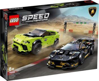 Конструктор LEGO Speed Champions Lamborghini Urus ST-X & Lamborghini Hurac?n Super Trofeo EVO