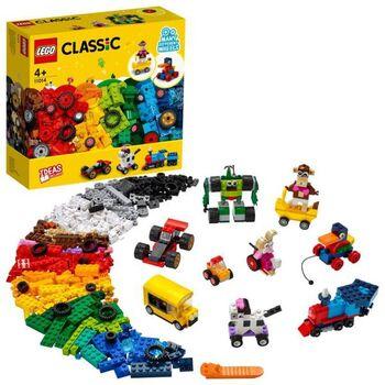 Конструктор LEGO CLASSIC Кубики и колёса