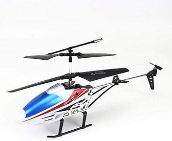 Вертолет на радиоуправлении E3308 White 27см с светодиодной подсветкой