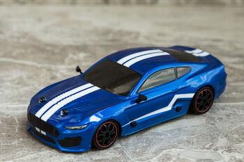Радиоуправляемая машина для дрифта Ford Mustang 1:18 4WD 2.4g синий