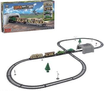 Железная дорога BSQ Военный поезд, длина полотна 357 см - BSQ-21813