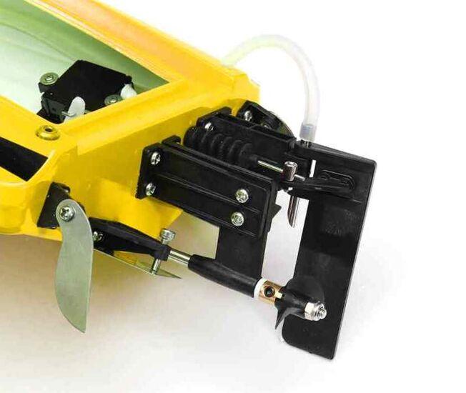 Радиоуправляемый катер Volantex RC Vector SR65 желтый 2.4G LiPo RTR