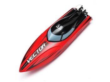 Радиоуправляемый катер Volantex RC Vector SR65 красный Brushless 2.4G LiPo RTR