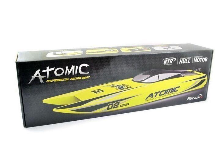 Радиоуправляемый катамаран Volantex RC ATOMIC 700 красный Brushless 2.4G LiPo RTR