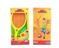 Бадминтон и теннис, в комплекте 2 ракетки, мяч и воланчик