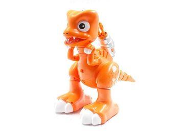 Интерактивный динозавр на пульте Feilun, звук, свет, вода, сенсор, стрельба, пение, танцы, автосон