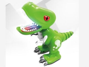 Радиоуправляемый динозаврик  Feilun, звук, свет, сенсор