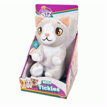 Котенок интерактивный (серый) Club Petz, со звуковыми эффектами, шевелит лапками если почесать животик