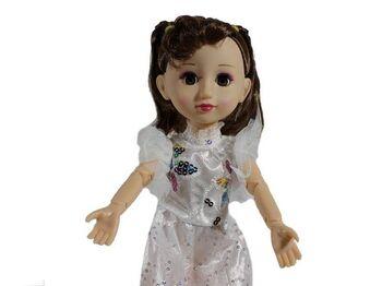 Кукла интерактивная Zhorya F03-101 Загадочная принцесса Света, звук, свет