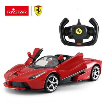 Машина Rastar 75800 Ferrari LaFerrari Aperta 1:14, цвет красный открываются двери