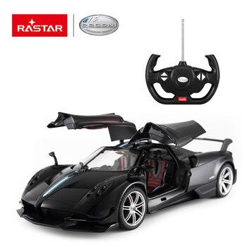 Машина Rastar 75400 Pagani Huayra BC 1:14 Цвет Черный открываются двери