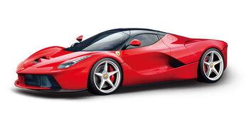 Радиоуправляемая машина Rastar 50100 Ferrari LaFerrari 1:14, открываются двери, цвет красный 27MHZ