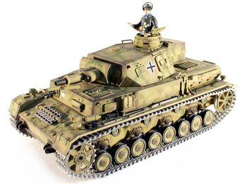 Радиоуправляемый танк Taigen Dak PZ.Kpfw. IV Ausf. F-1 PRO 1:16 2.4G (пневмо)