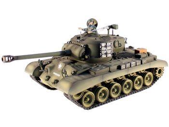 Радиоуправляемый танк Taigen M26 Pershing Snow Leopard PRO 1:16 2.4G (пневмо)