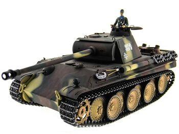 Радиоуправляемый танк Taigen Panther TYPE G 2.4G 1:16 (пневмо)