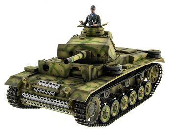 Радиоуправляемый танк Taigen Panzerkampfwagen III 2.4G 1:16 (пневмо)