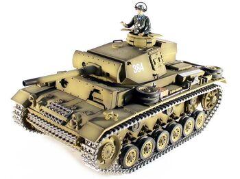 Радиоуправляемый танк Taigen Panzerkampfwagen III HC 1:16 2.4G (пневмо)