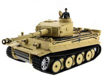 Радиоуправляемый танк Taigen German Tiger 1 1:16 2.4G (пневмо, ранняя версия)