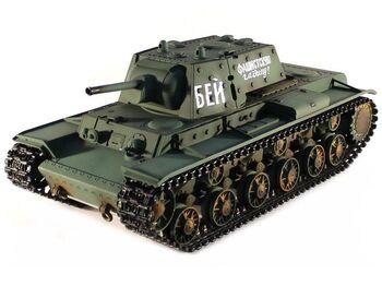 Радиоуправляемый танк Taigen Russia KV-1 HC 1:16 (металл) 2.4G (ИК)