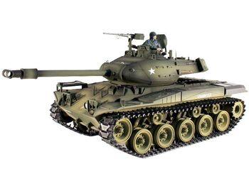 Радиоуправляемый танк Taigen M41A3 Bulldog PRO 2.4G 1:16 (пневмо)