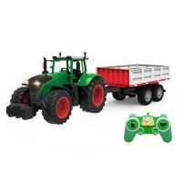 Радиоуправляемый фермерский трактор с прицепом Double E 1:16 2.4G - E354-003