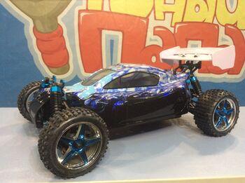 Радиоуправляемая багги HSP XSTR Blue 4WD 1:10 2.4G