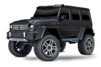 Радиоуправляемая машина Traxxas TRX-4 Mercedes G 500 1:10 4WD Scale and Trail Crawler Черный без акб и зу