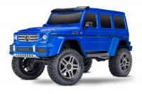 Радиоуправляемая машина Traxxas TRX-4 Mercedes G 500 1:10 4WD Scale and Trail Crawler Синий без акб и зу