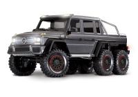 Радиоуправляемая машина Traxxas TRX-6 Mercedes-Benz G 63 AMG 6x6 Silver без акб и зу