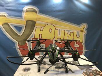 Квадрокоптер JXD 506W Challenger 2MP Камера, Передача видео по WIFI, регулируемый подвес, барометр 540мм