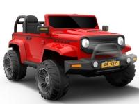 Детский электромобиль Jeep Wrangler Red с полным приводом - CH9938-RED